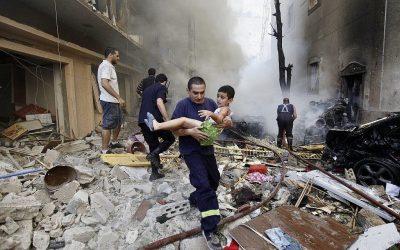 I bønn for Beirut og Libanon