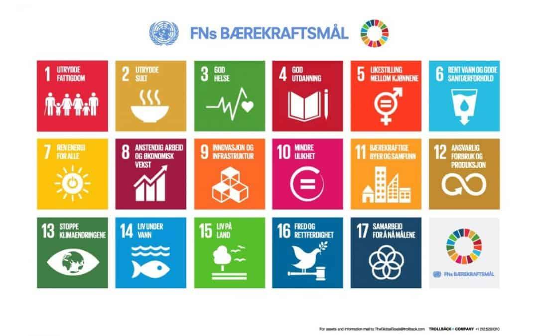 Nordmenn ønsker å leve bærekraftig, men har lite kunnskap om bærekraftsmålene
