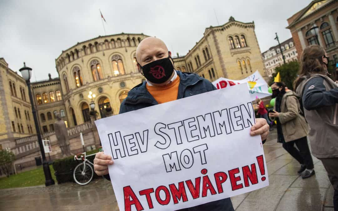 Norge bør slutte seg til FNs atomvåpenforbud