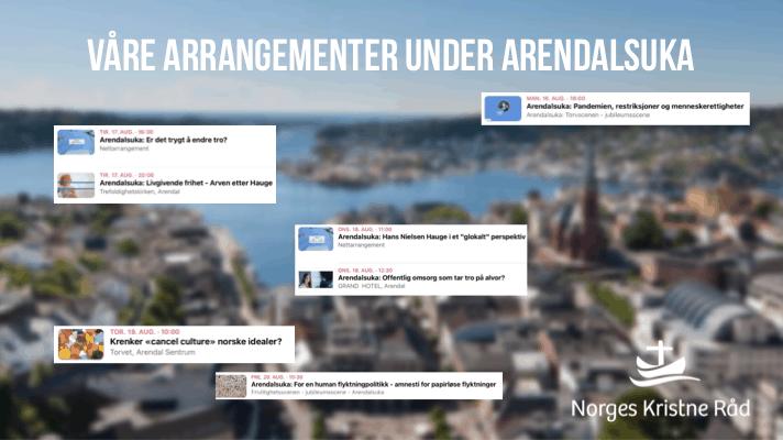 Norges Kristne Råd på Arendalsuka