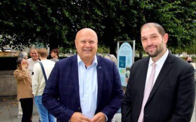 Hilsen til Det Mossaiske Trossamfund og synagogen i Oslo