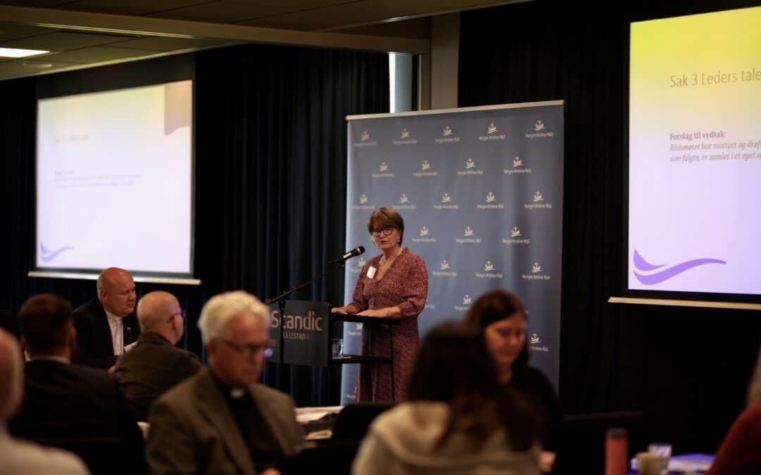 Rådsmøte 2021: Leders tale
