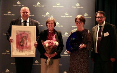 Økumenikkprisen til Helga Haugland Byfuglien