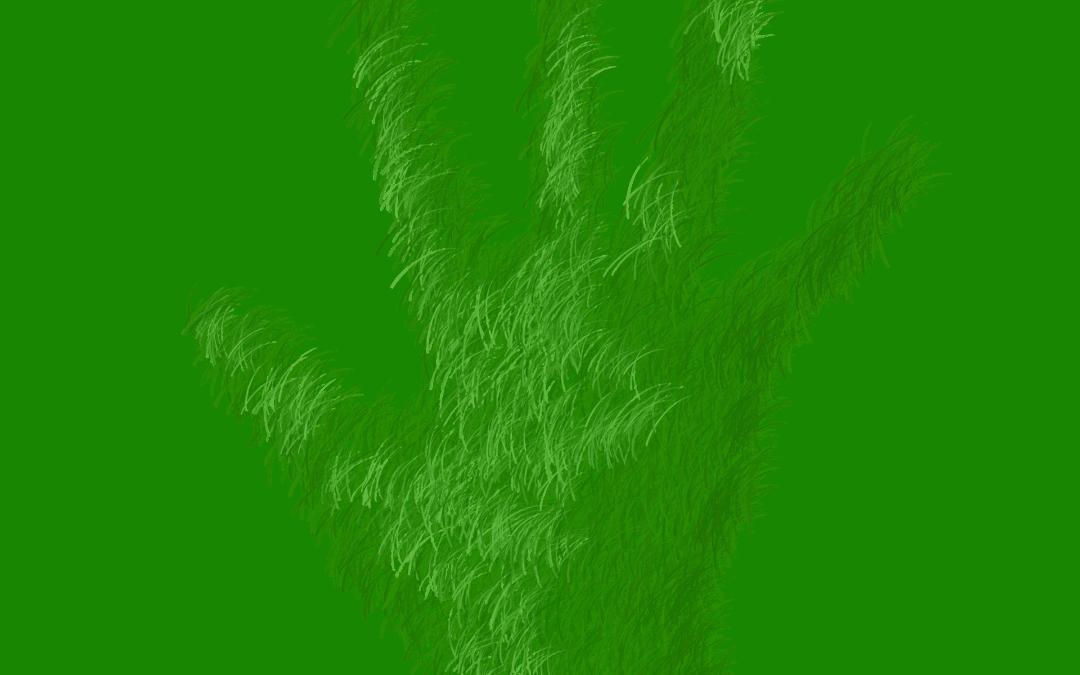 Et guddommelig fingeravtrykk og nye grønne kirker
